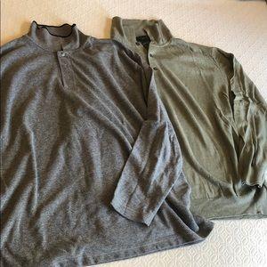 Men's Long Sleeve Luxury Shirts EUC